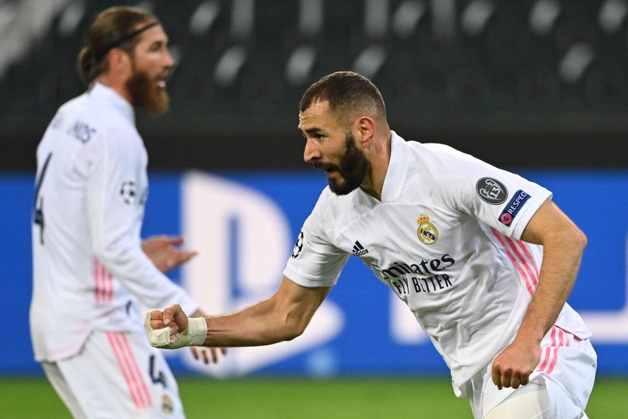 CHAMPIONS LEAGUE Borussia Monchebgladbach - Real Madrid 2-2