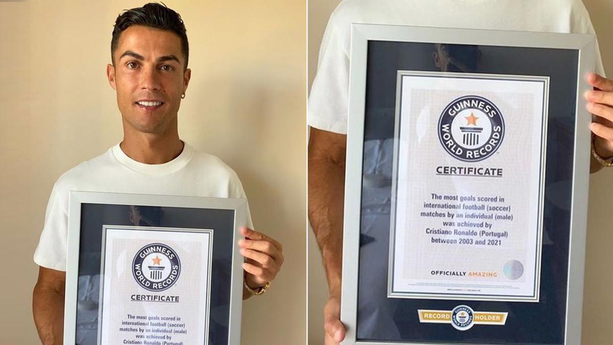 Calcio Guinnes World Record per Cristiano Ronaldo, 111 gol con il Portogallo