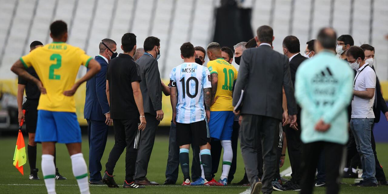 Qualificazioni Mondiali Caos Brasile - Argentina, sospesa dall'autorità sanitaria che fa uscire i giocatori argentini